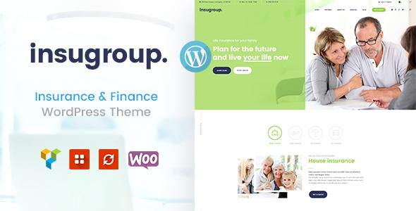 Insugroup | A Clean Insurance & Finance WordPress Theme