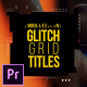 Glitch Grid Titles - VideoHive Item for Sale