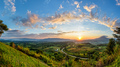 Panorama sunrise at Khao Takhian Ngo View Point - PhotoDune Item for Sale