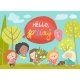 Cute Little Girls Meeting Spring in Park - GraphicRiver Item for Sale