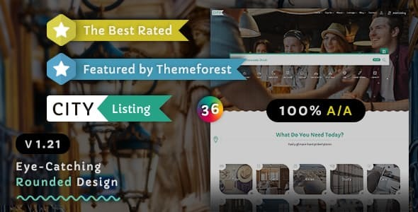 City Listing – Directory Template