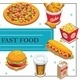 Isometric Fast Food Concept - GraphicRiver Item for Sale