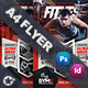 Fitness Trainer Flyer Templates - GraphicRiver Item for Sale