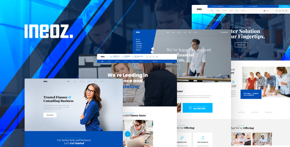Ineoz - Business Consulting HTML Template