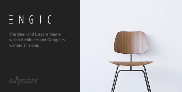 Engic – A Sleek Multiuse Responsive WP Theme Free Download