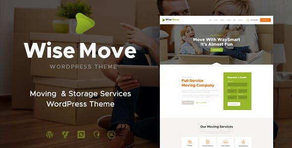 Wise Move   Relocation and Storage Services WordPress Theme