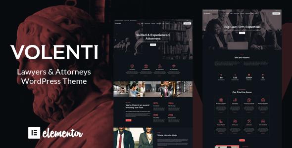 Volenti - Lawyers Elementor WordPress Theme by matchthemes