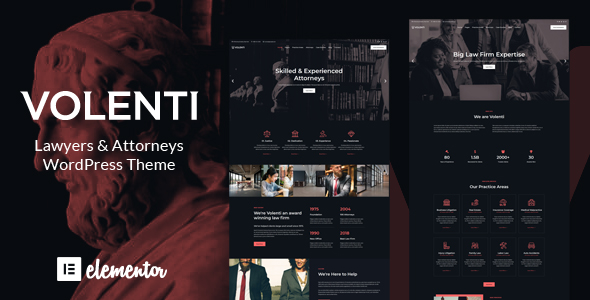 Lawyers Elementor WordPress Theme