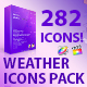 Weather Icons Pack - VideoHive Item for Sale