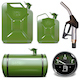 Vector Gasoline Canister Icons - GraphicRiver Item for Sale