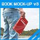 Book Mock-up v3 - GraphicRiver Item for Sale