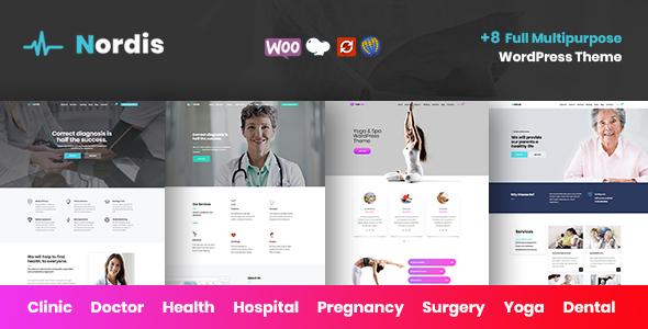 Nordis - Health & Medical WordPress