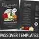Passover Flyer / Menu Templates - GraphicRiver Item for Sale