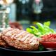 raw burger - PhotoDune Item for Sale