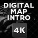 Digital Map Intro Logo Opener - VideoHive Item for Sale