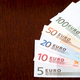 European money on a wooden background  - PhotoDune Item for Sale