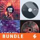 Electronic Music Album Cover Artwork Templates Bundle 8 - GraphicRiver Item for Sale