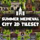 Summer Medieval City Game Tileset - GraphicRiver Item for Sale