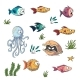 Collection of Cartoon Fishes - GraphicRiver Item for Sale