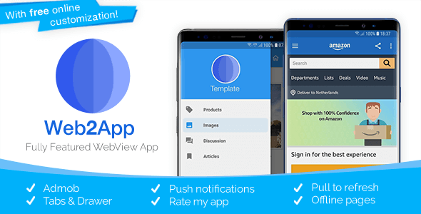 Download] Web2App - Quickest Feature-Rich Android Webview Nulled