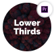 Simple Lower Thirds for Premiere Pro - VideoHive Item for Sale