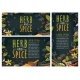 Herb and Spice Handwriting Lettering - GraphicRiver Item for Sale