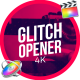 Glitch Inspired Opener - VideoHive Item for Sale