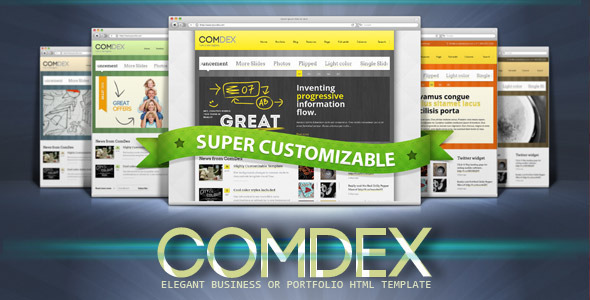 COMDEX — Clean and Modern Website Template - Corporate Site Templates