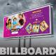 Kids Care Billboard - GraphicRiver Item for Sale
