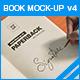 Book Mock-up v4 - GraphicRiver Item for Sale
