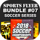 Sports Flyer Bundle 07 Soccer Series - GraphicRiver Item for Sale
