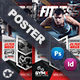 Fitness Trainer Poster Templates - GraphicRiver Item for Sale