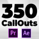 CallOuts | For Premiere Pro and After Effects - VideoHive Item for Sale