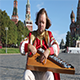 Folk Performer With Music Instrument Gusli - VideoHive Item for Sale