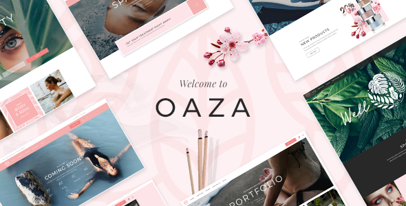Oaza - Elegant Spa and Wellness Theme