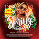 Spring Festival Flyer Template - GraphicRiver Item for Sale