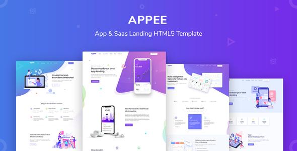 Appee - SaaS, Software & WebApp Template