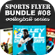 Sports Flyer Bundle 08 Volleyball Series - GraphicRiver Item for Sale