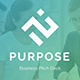Business Purpose Pitch Deck Powerpoint Template - GraphicRiver Item for Sale