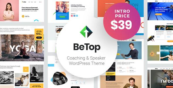 BeTop – Coaching & Speaker WordPress Theme Free Download