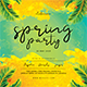 Spring Night Party Flyer - GraphicRiver Item for Sale