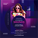 Sound Night Party Flyer - GraphicRiver Item for Sale