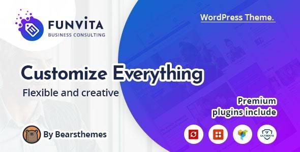 Funvita    Business Consulting WordPress Theme