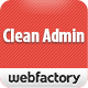 Clean Admin - Super Simple Admin Template Nulled