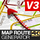 Map Route Generator - VideoHive Item for Sale