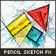 Animated Pencil Sketch FX - Photoshop Add-On - GraphicRiver Item for Sale