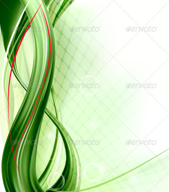 business elegant abstract green background vector by