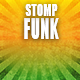 Stomp Funky Rock Commercial Logo