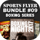 Sports Flyer Bundle 09 Boxing Series - GraphicRiver Item for Sale