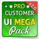 E-commerce UI Mega Pack - GraphicRiver Item for Sale